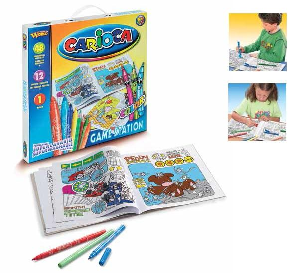 Set articole creative CARIOCA Game Station 0