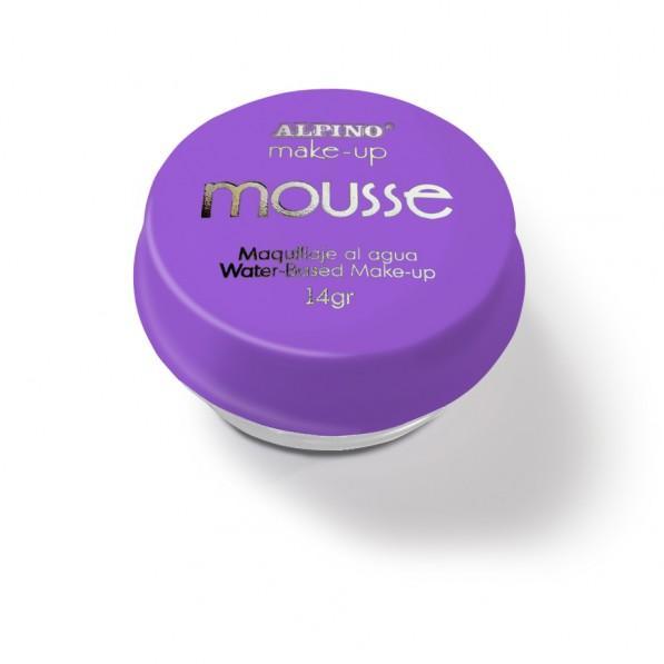Spuma machiaj, 14gr., ALPINO Make-Up Mousse - violet
