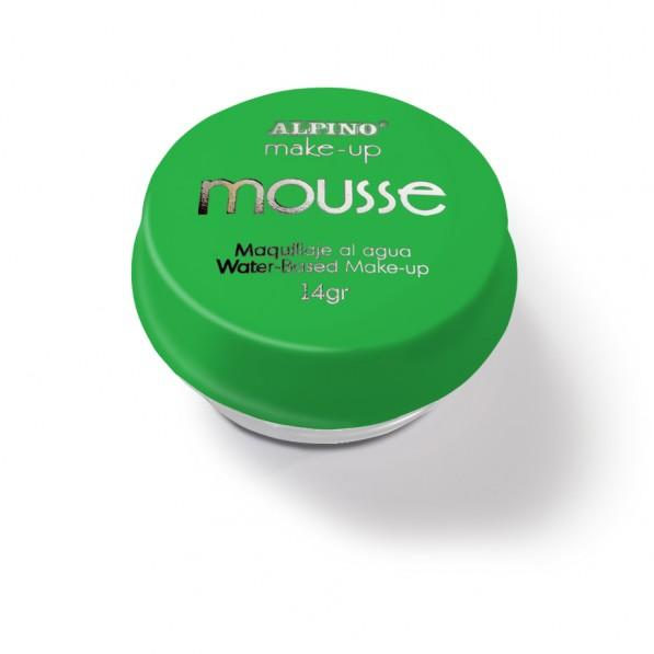 Spuma machiaj, 14gr., ALPINO Make-Up Mousse - verde