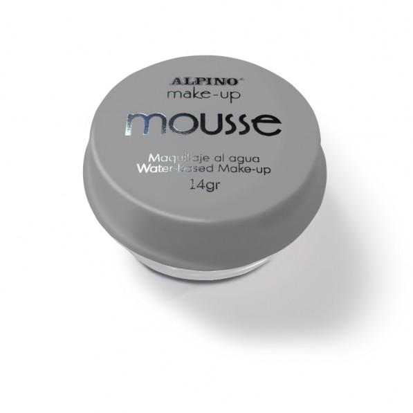 Spuma machiaj, 14gr., ALPINO Make-Up Mousse - argintie