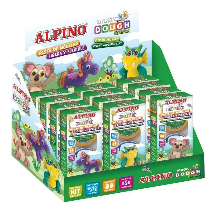 Display 12 (4 x 3) plastilina magica, ALPINO