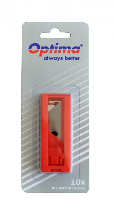 Rezerve cutter trapezoidale SK5, 10 buc/tub dispenser, in blister, Optima