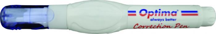 Stilou corector 7 ml, varf metalic, Optima