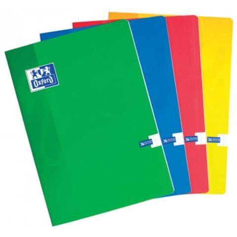 Caiet A4, OXFORD School,  60 file - 90g/mp, liniat stanga - dictando