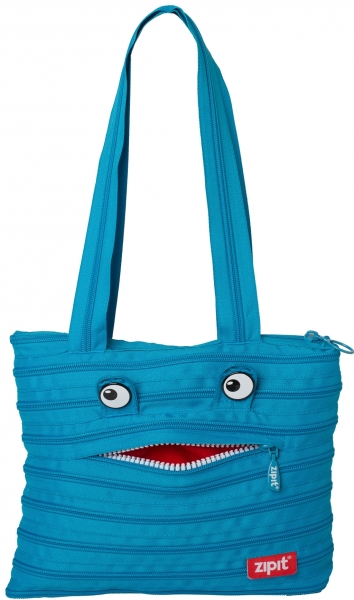 Geanta de umar ZIP..IT Monster Tote - turcoaz bleu 2