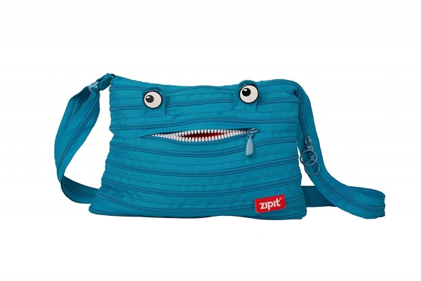 Geanta de umar ZIP..IT Monster - turcoaz bleu