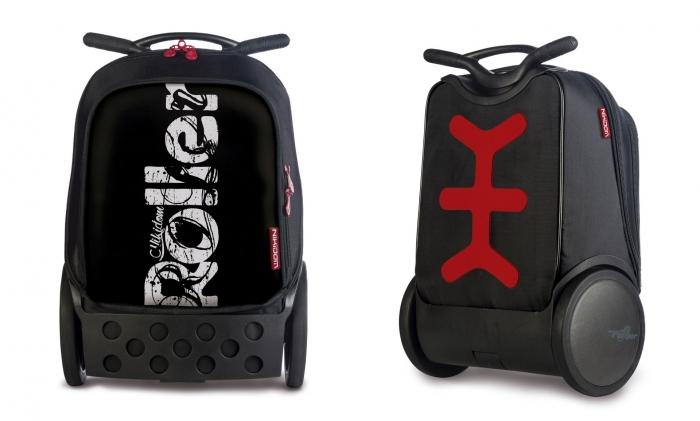 Ghiozdan Roller NIKIDOM XL - Blackout 0