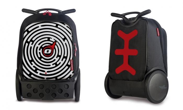 Ghiozdan Roller NIKIDOM XL - Labyrinth 0